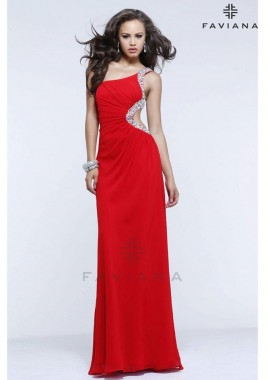Rdeča obleka za maturo